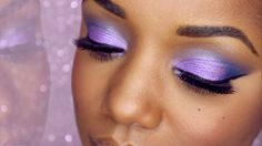 Purple Spring Eye Makeup Tutorial | Ellarie