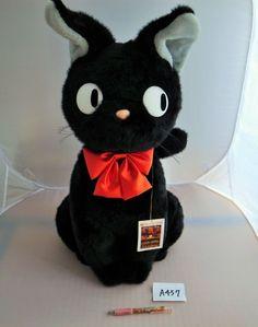 Kiki's Delivery Service Studio Ghibli Jiji Cat Big Plush Doll (japan import) LL…