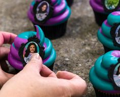 Learn how to make these fun and easy Disney's Descendants cupcakes.