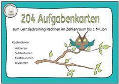135 best Mathe - Arbeitsblätter & Flashcards images on Pinterest ...