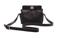 Leather Crossbody Bag <-All of us 'commuters' need a good crossbody in New York City!