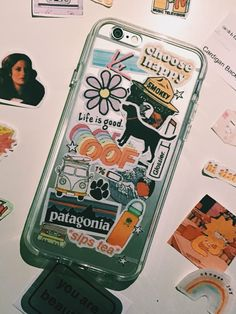 diy phone case 757238124833611208 - DIY'ed sticker phone case Source by michellesnsimages Iphone 6, Coque Iphone, Iphone Cases, Diy Phone Case, Cute Phone Cases, Laptop Case, Accessoires Iphone, Wallpaper Aesthetic, Aesthetic Phone Case