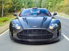 "A company called Mansory modifies an Aston Martin DB9/DBS until its technically not an Aston anymore! I'd call it ""Carbon Speedbeast""!"
