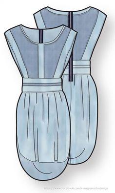 Vestido sin mangas - Flat