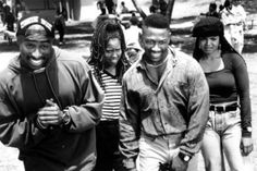 "Tupac Shakur, Regina King, Joe Torry and Janet Jackson ""Poetic Justice"", 1993"