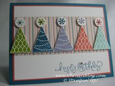 stampin up pennant parade ideas - Google Search