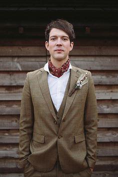 <3...Stylish Groom In Tweed.....