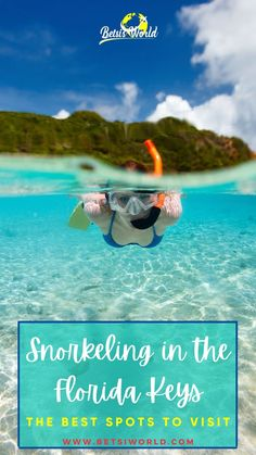 Are you wondering what to do in florida for your vacation? Try snorkeling in the Florida Keys! Learn where the best spots to snorkel are in Key Largo, Islamorada, Marathon, Big Pine, and the…
