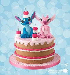 Stitch and Angel Cake