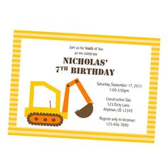 Construction Diggers and Dump Trucks by nickwilljack on Etsy, $10.00