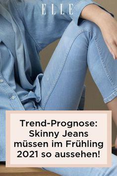 Die Skinny Jeans feiert im Frühling 2021 ihr modisches Comeback und kehrt mit drei relevanten Trend-Modellen zurück!