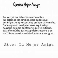 Friendship Quotes QUOTATION – Image : Quotes about Friendship – Description Sharing is Caring – Hey can you Share this Quote ! Guy Best Friend, Best Friends, Spanish Jokes, Quotes En Espanol, Inspirational Words Of Wisdom, Summer Quotes, Love Phrases, Love Messages, Friends Forever