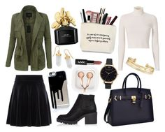 """""""Без названия #40"""" by a-derisheva ❤ liked on Polyvore featuring New Look, A.L.C., LE3NO, River Island, claire's, Olivia Burton, Stella & Dot, BillyTheTree and Marc Jacobs"""