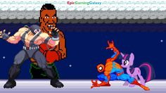 Twilight Sparkle And Spider-Man VS Mike Tyson The Boxer And Bane In A MUGEN Match / Battle / Fight This video showcases Gameplay of Twilight Sparkle From The My Little Pony Friendship Is Magic Series And Spider-Man The Superhero VS Mike Tyson The Boxer And Bane The Supervillain In A MUGEN Match / Battle / Fight