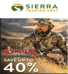 Make the deals with sierra trading post 40% off - sierra trading post publishes day to day royal discounts with sierra trading post 40% off coupon codes on all selected products. Sierra trading post has engaged with thousands of international brands.It has established in 1986 at the same time they launched online retailer site of sierra trading post so that from the past itself it has started giving sierra trading post coupons to merge bunch of discounts and set of savings.
