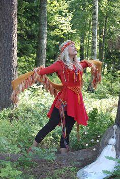 Mai Niemi Finnish Fairytale Fashion customer photo Red Leather, Leather Jacket, Fairytale Fashion, Fairy Tales, Fashion Inspiration, Princess Zelda, Inspire, Artists, Jackets