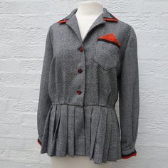Hey, I found this really awesome Etsy listing at https://www.etsy.com/listing/178682822/womens-jacket-wool-clothing-1960s-jacket