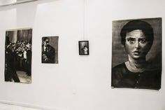 art exhibition it is what it is artist Lefteris Toulis charcoal