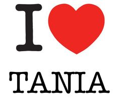 I Heart Tania | I Heart Project