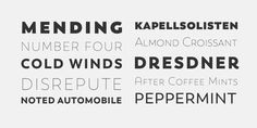 Trenda - Webfont & Desktop font « MyFonts