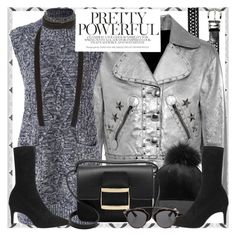 """""""Style's Tip: How to wear a Metallic Jacket?"""" by marymary91 ❤ liked on Polyvore featuring Relic, Marc by Marc Jacobs, Christian Dior and Ann Demeulemeester"""