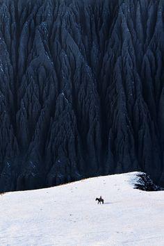 Wood, Rider, Art, Night