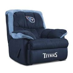 Imperial USA Tennessee Titans Home Team Recliners.....OMG by boys would love this!  I want to buy these for them for Christmas!
