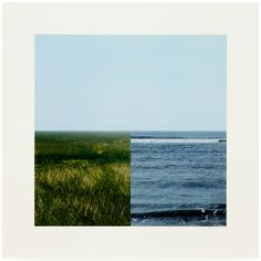 Land-Sea Horizon 2011 From a series of four photo-collages Photo-collage Paper and Image x cm (each) © Jan Dibbets. Courtesy the artist and Alan Cristea Gallery, London Sea Colour, Josef Albers, Sea Photo, Color Studies, Land Art, Photomontage, Landscape Photos, Book Design, Art Projects