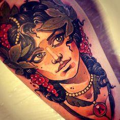 Tattoo done byVitaly Morozov.