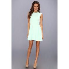 bb88d984d20bd Ted Baker Nistee Side Pleat Skater Dress (Pale Green) Amal A s dress