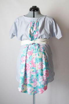 Шьем блузу для беременных из старой рубашки