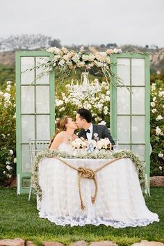 Create a lovely romantic table to coordinate with your fantastic vineyard wedding theme because it is certain to be the main focus of the wedding Wedding Centerpieces, Wedding Decorations, Table Decorations, Tall Centerpiece, Wedding Ideas, Wedding Details, Sweetheart Table Decor, Head Table Wedding, Sweet Heart Table Wedding