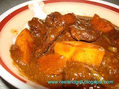 Reel and Grill: Kalderetang Baka (Beef Caldereta or Filipino Beef Stew)