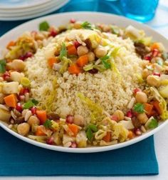 Cocina – Recetas y Consejos Healthy Recepies, Healthy Foods To Eat, Couscous, Veggie Recipes, Vegetarian Recipes, Easy Cooking, Cooking Recipes, Salty Foods, Veggie Delight