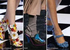 Fall/ Winter 2016-2017 Shoe Trends: Unconventional Shoes