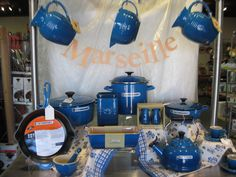 Le Creuset in Marseille Blue - future home