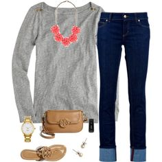 """Outfit for school(read below please)"" by tex-prep on Polyvore"