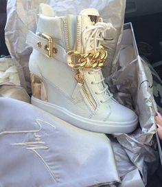 Giuseppe Zanotti sneaker heels