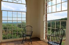 Monticello -- I sat in this room and read a book for an hour or so, just to relax