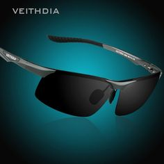 ec17de94ad Online Shop VEITHDIA Aluminum Magnesium Men s Polarized Sun glasses Night  Vision Mirror Male Eyewear Sunglasses Goggle Oculos For Men 6502