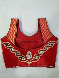 Patch Work Blouse Designs, Kids Blouse Designs, Blouse Back Neck Designs, Fancy Blouse Designs, Blouse Neck Designs, Stylish Blouse Design, Designer Blouse Patterns, Couture, Saree Blouse