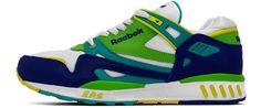 Reebok ERS 5000 2 Retro Sport White/Blue/Green/Yellow