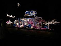 Seahawks kind of Christmas!! Love it!!