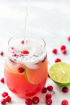 This Cranberry Pineapple Punch is crisp refreshing and loved by adults and kids. Perfect Christmas Holiday Punch! And it's totally easy; just add and stir! | natashaskitchen.comThis Cranberry Pineapple Punch is crisp refreshing and loved by adults and kids. Perfect Christmas Holiday Punch! And it's totally easy; just add and stir! | natashaskitchen.com