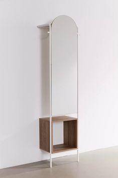 Foyer Storage, Cubby Storage, Storage Mirror, Ikea Storage, Office Storage, Hemnes, Industrial Floor Mirrors, Mirrors Urban Outfitters, Grey Kitchen Floor