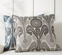 Find throw and accent pillows from Pottery Barn to easily update your space. Shop our pillow collection to find decorative pillows in classic styles, prints and colors. Neutral Pillows, Ikat Pillows, Decorative Throw Pillows, Sofa Cushions, Accent Pillows, Cushion Covers, Pillow Covers, Embroidered Cushions, Soft Furnishings