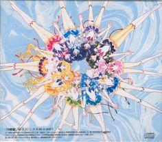 Eternal form Sailor Senshi - Sailor Moon; Original art. By: Naoko Takeuchi
