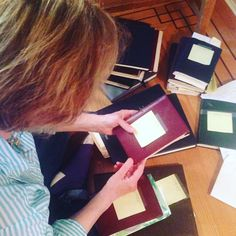 On this Canadian Thanksgiving weekend we tend to focus on our blessings. What am I ESPECIALLY grateful for this year? These beauts. My mother's diaries. I've read 10 years worth and am now writing a book about the quirky 10 years we worked together in her successful Vancouver eclectic Asian antiques and collectibles shop. Couldn't do it without them. Thanks, Mom. #kellyswritingabook
