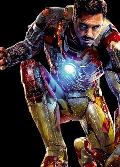 My favorite Marvel hero:  IRON MAN