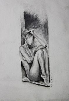 Body Drawing, Woman Drawing, Life Drawing, Woman Body Sketch, Dark Art Drawings, Pencil Art Drawings, Art Sketches, Figure Sketching, Figure Drawing Reference